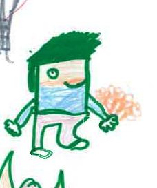 homme vert petit