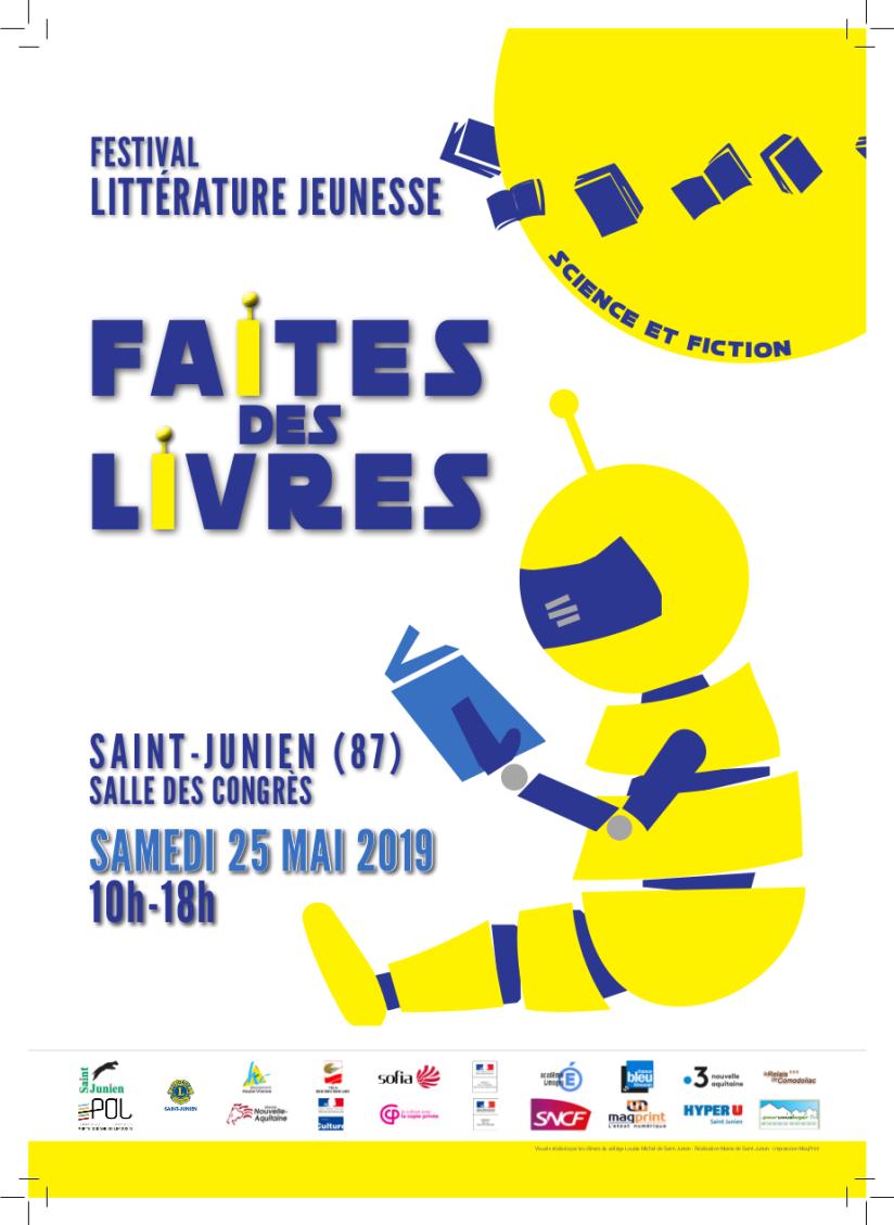 Affiche A4 festival 2019 au 12 mars
